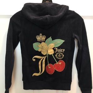 Juicy Couture Girls Size 8 Terry Sweatsuit